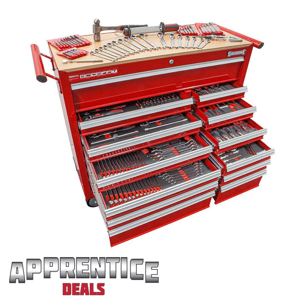 Sidchrome Apprentice 382 Met-AF Piece Tool Kit