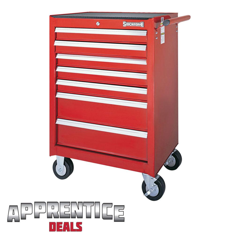 Sidchrome Apprentice 7 Drawer Roller Cabinet